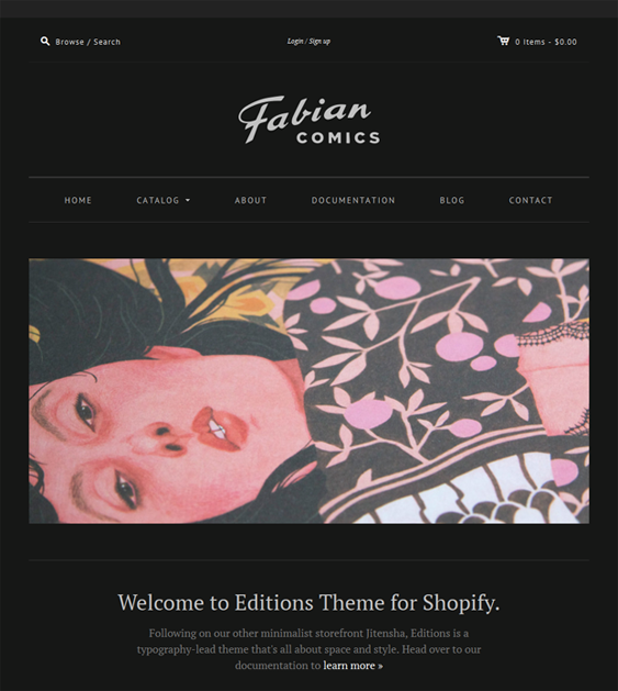 fabian dark shopify theme