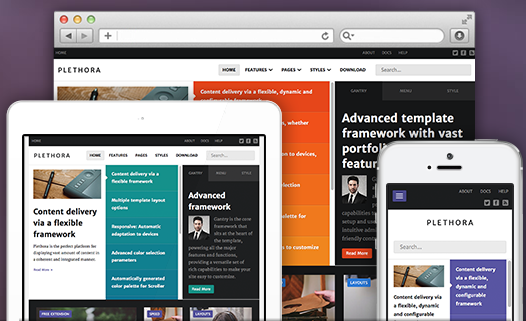 RocketTheme Launches 'Plethora' for Joomla