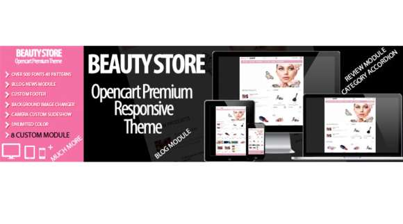 Beauty Shop Responsive