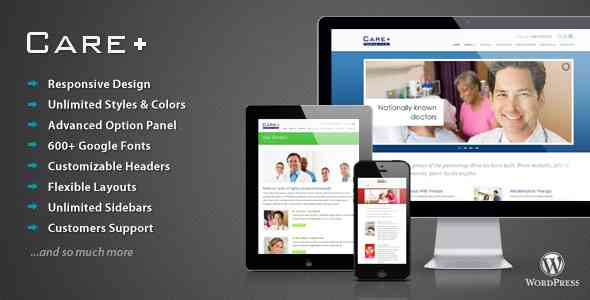 Care - Medical and Health Blogging WordPress Theme