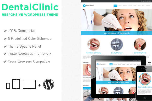 DentalClinic WordPress Theme