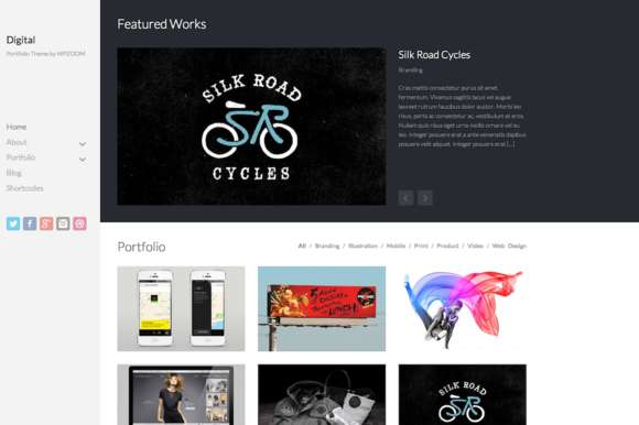 Digital - Portfolio Theme