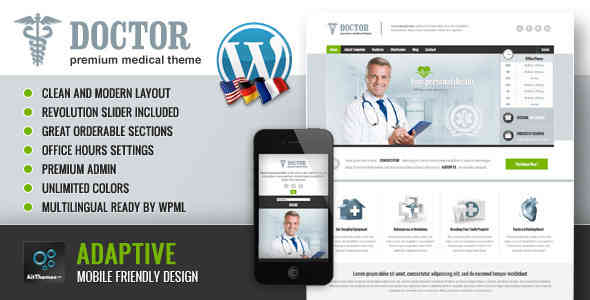 Doctor: Universal Medical WordPress Theme