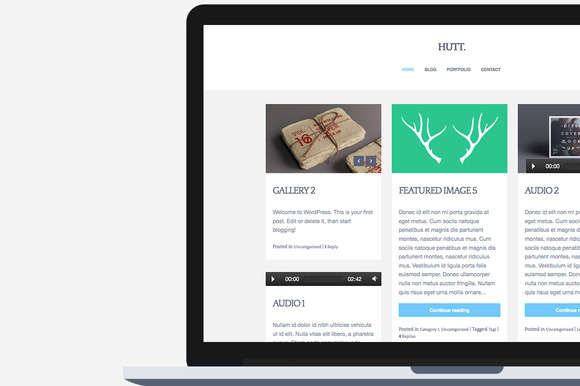 Hutt | Blog Theme