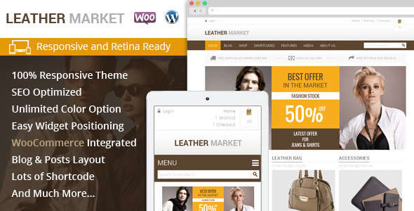Leather Market - WooCommerce Responsive Theme