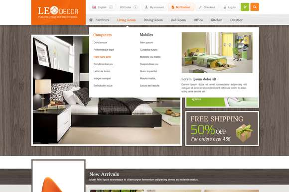 Leo Decor Prestashop Theme