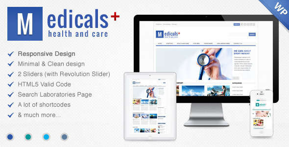 Medicals Health & Medical WordPress Theme