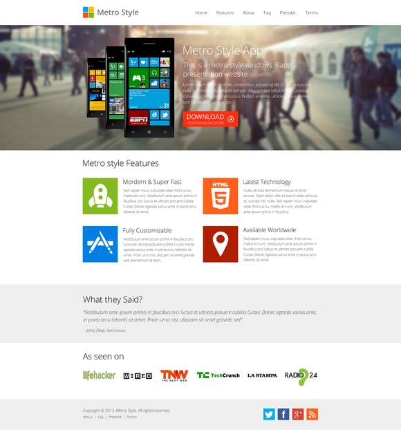 Metro Windows 8 App Showcase