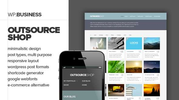 Outsource - Responsive Business Theme