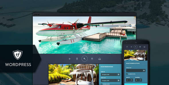 Paradise Cove - Hotel WordPress Theme
