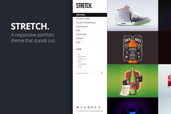Stretch WordPress Theme