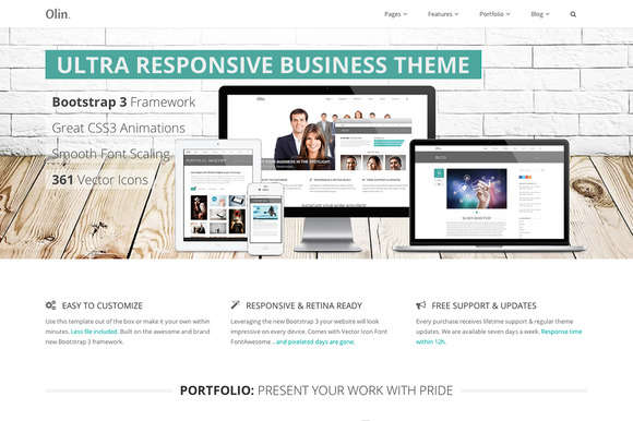 Ultra Responsive Business Theme