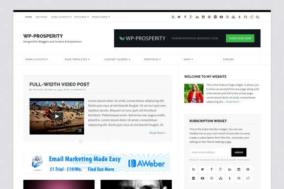 WP-Prosperity 2.0 Multipurpose Theme