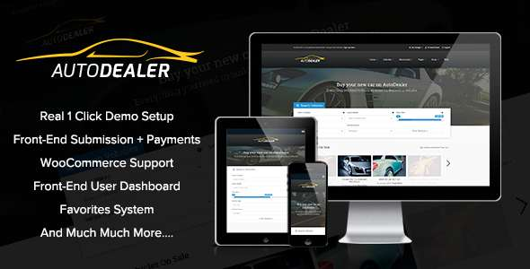 AutoDealer – Car Dealer Premium WordPress Theme