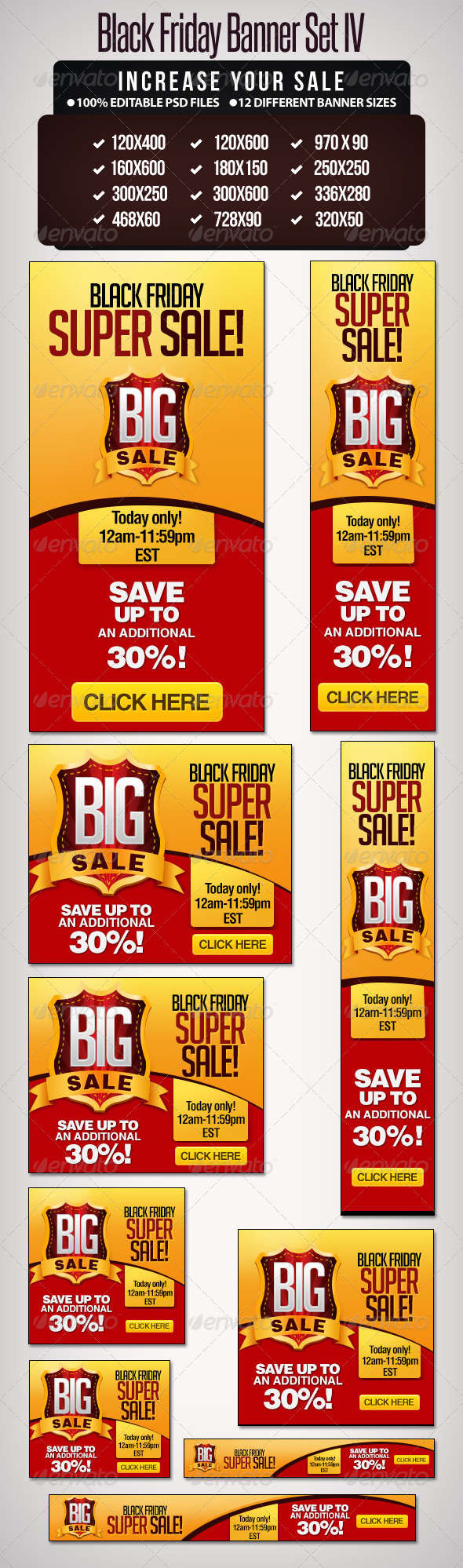 Big Sale Banner Set - III