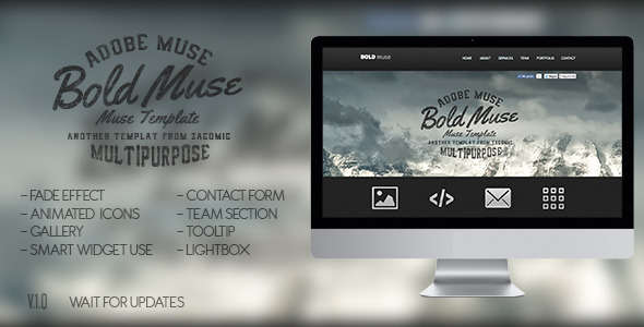 Bold Muse Parallax Template
