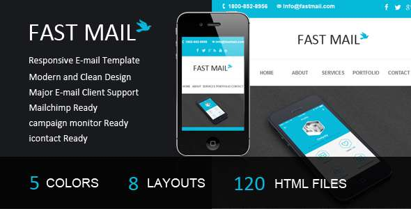 Fast Mail- Responsive E-mail Template