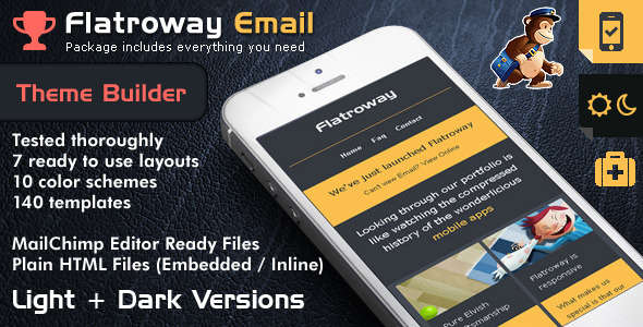 FlatroWay - Metro Flat Responsive Email Template
