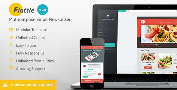 Flattie - Flat Responsive Email Template