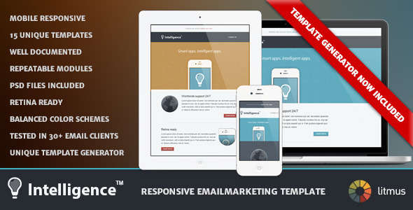 Intelligence - Responsive Emailmarketing Template