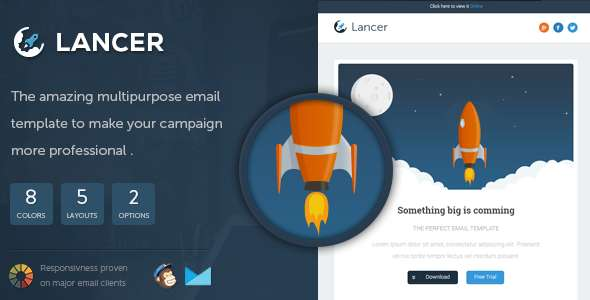Lancer - Responsive Email Template