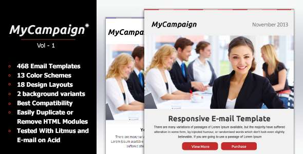 MyCampaign - Multipurpose Business Email Template