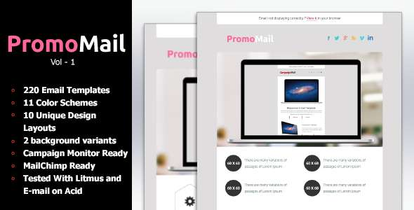 PromoMail - Responsive Business Newsletter Templat