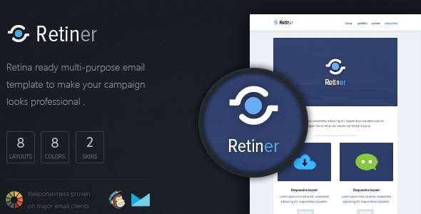 Retiner - Retina Ready Email Template
