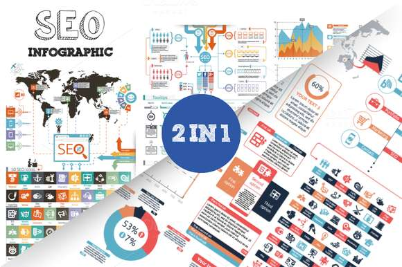 SEO Infographic Bundle