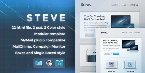 Steve - Responsive Email Template