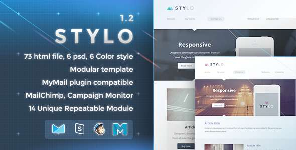 Stylo - Responsive Email Template