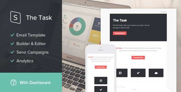 The Task - StampReady Email Template