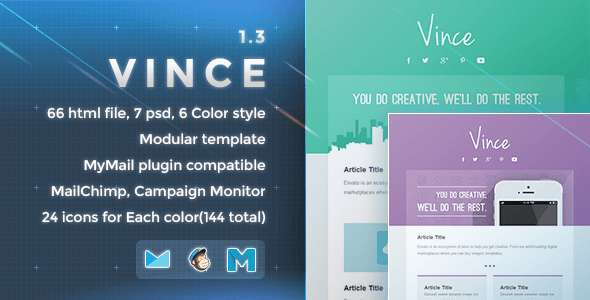 Vince - Responsive Email Template