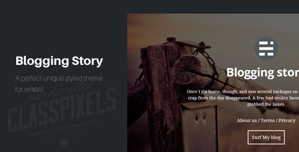 Blogging Story Responsive Ghost Theme by ClassPixels is a Ghost theme which features fully responsive layouts, clean design, blogging related layouts and optimizations and  minimal design.