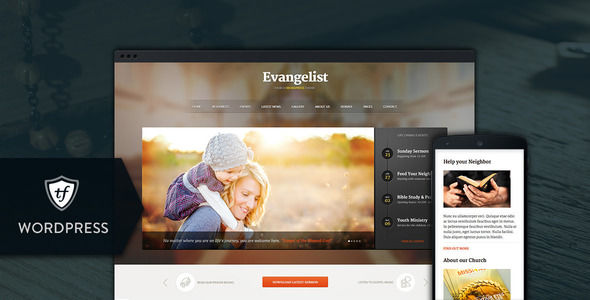 Evangelist by ThemeFuse is a news magazine WordPress theme with video support which features Retina display support, fully responsive layouts and search engine optimization.