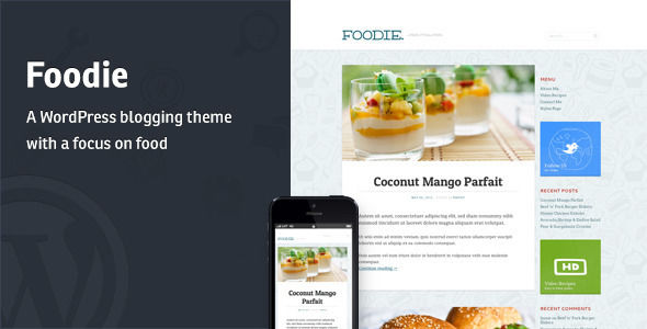 Foodie by Mintthemes is a recipe WordPress theme which features support for RTL languages, fully responsive layouts, clean design, can be used for your portfolio and blogging related layouts and optimizations.