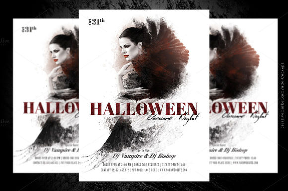 Halloween by AdeConcept is available from CreativeMarket for $6.