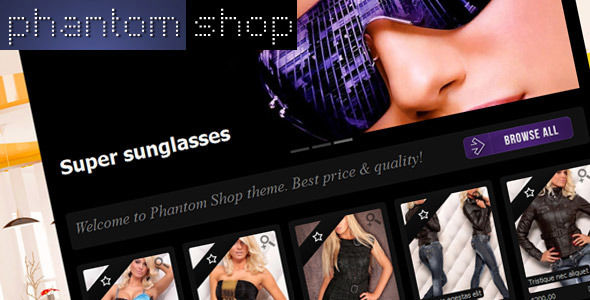 Phantom Shop by Diabolique is a Shopify theme which features support for RTL languages.
