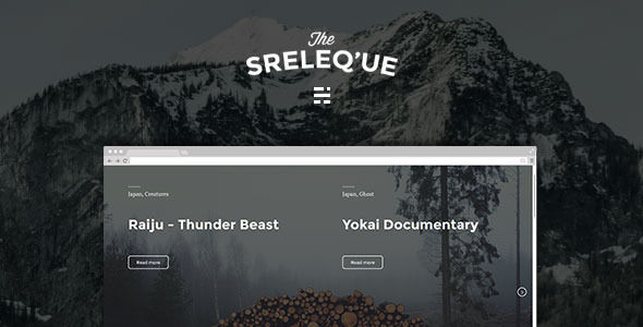 Sreleque by Playwork is a Ghost theme which features support for RTL languages, fully responsive layouts and  minimal design.