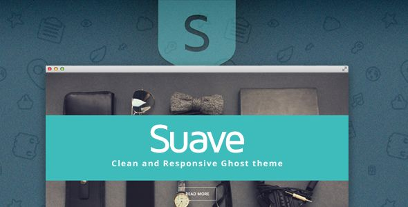 Suave Ghost Theme by Aestik is a Ghost theme which features support for RTL languages, fully responsive layouts, clean design, Bootstrap framework utilization, blogging related layouts and optimizations and  minimal design.