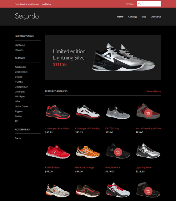 classic clean shopify themes