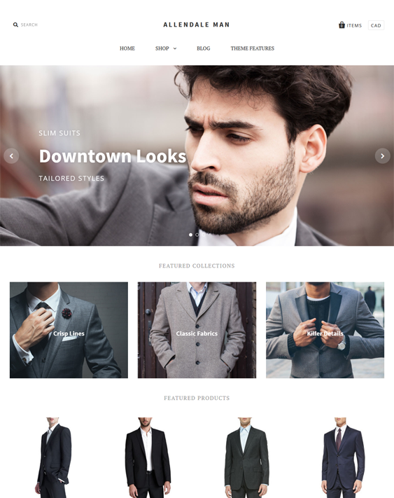pacific bold apparel clothing shopify themes