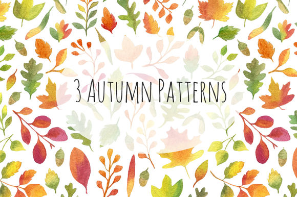 Autumn Seamless Patterns by HelgaWigandt is available from CreativeMarket for $8.