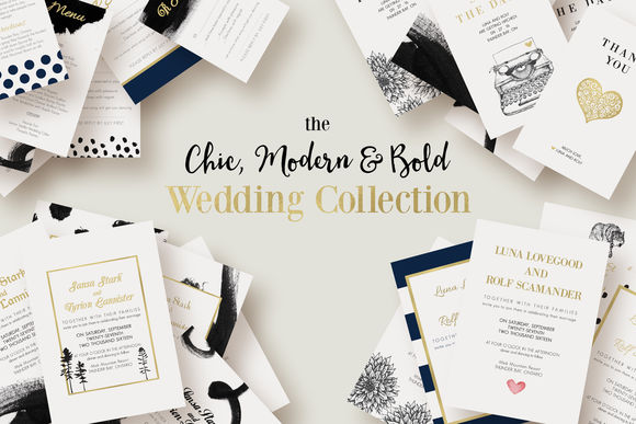 Chic by KnottedDesign is available from CreativeMarket for $24.