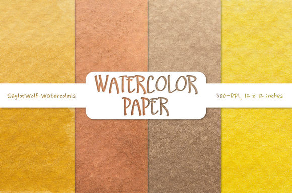 Fall Harvest Digital Scrapbook Paper by SaylorWolfWatercolors is available from CreativeMarket for $4.