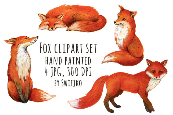 Fox Illustration by Swiejko is available from CreativeMarket for $7.