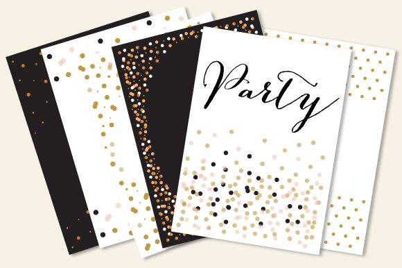 Party Templates In JPG And Vector by Pixejoo is available from CreativeMarket for $13.