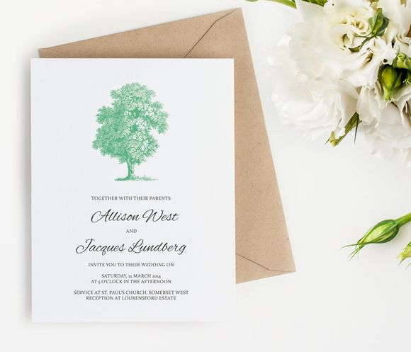 Printable Wedding Invitation by ClementineCreative is available from CreativeMarket for $15.