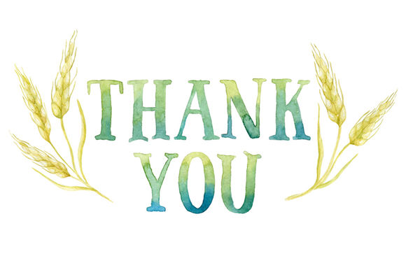 Thank You Tag In Wheat Frame by HelgaWigandt is available from CreativeMarket for $3.