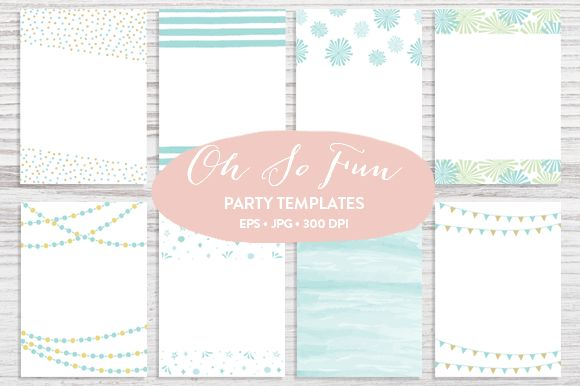 Trendy Invitation Templates by Pixejoo is available from CreativeMarket for $13.